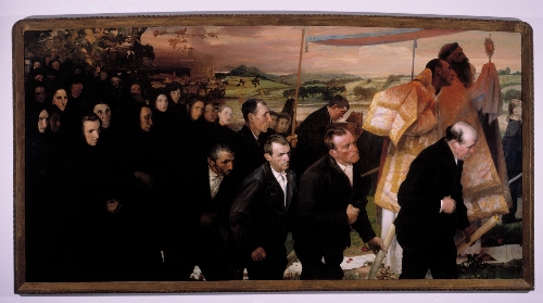 La procesión del Corpus en Lezo