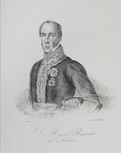 Retrato del general Miguel Ricardo de Álava y Esquível