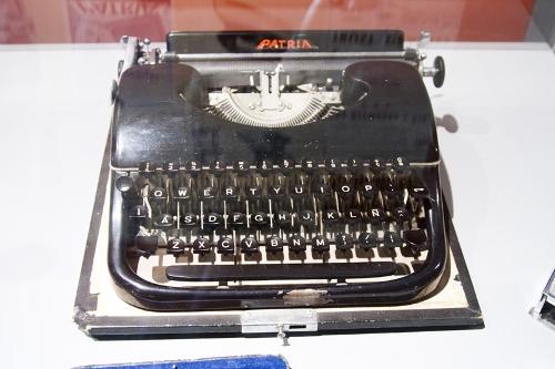 Máquina de escribir PATRIA