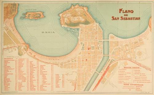 Plano de San Sebastian