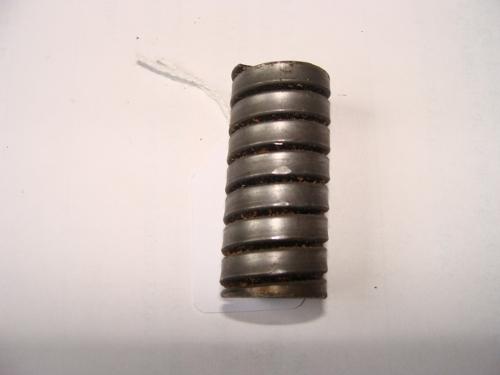 Muelle de fleje cuadrado de compresión con extremos refrentados