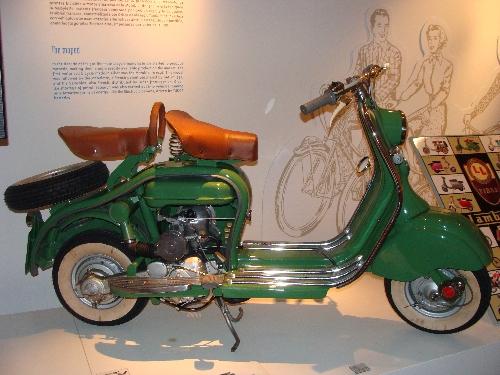 Lambretta, modelo LD125