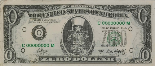 Zero Dollar [Cero dólares]