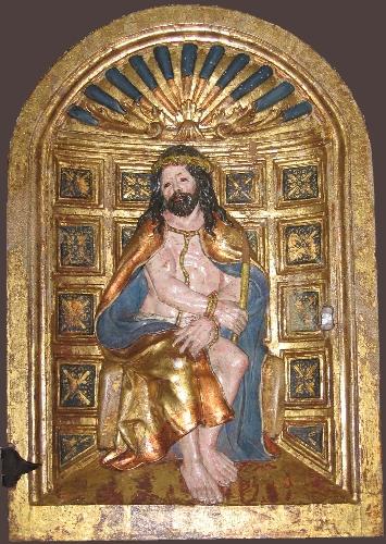 Puerta de sagrario con Ecce Homo