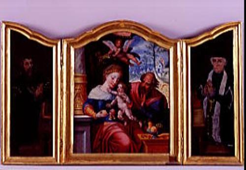 Tríptico de la Sagrada Familia