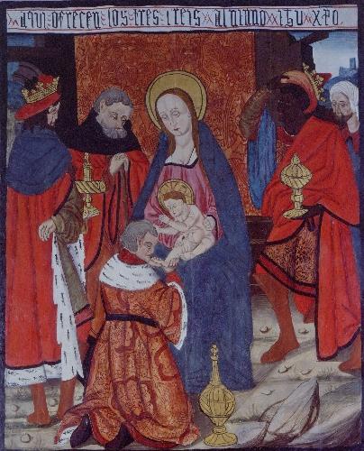 Retablo de Tortura: Adoración de los Reyes