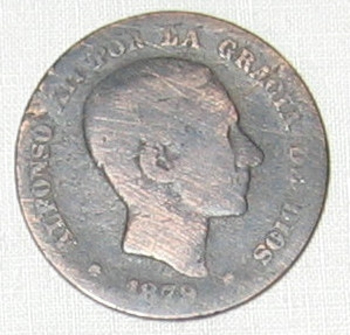 Moneda Alfonso XII