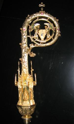 Báculo de la Catedral de Santa María