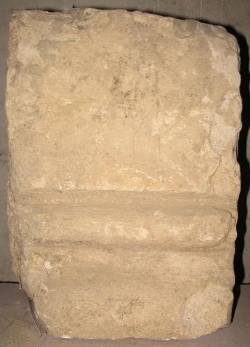 Fragmento de jamba de la Abadía de Santa Pía