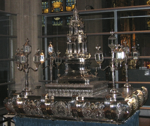 Custodia procesional de la Catedral de Santa María