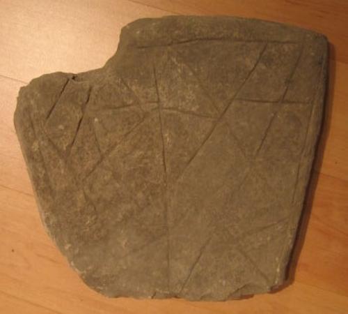 Fragmento de tapa de sepultura de Molinilla