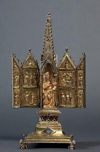 Relicario de la Virgen del Cabello de Quejana
