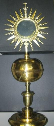 Copón-custodia de Santa María del Yermo