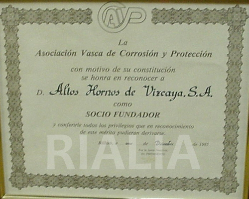 Diploma corrosión
