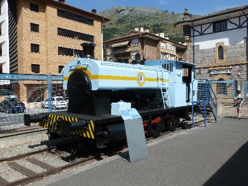 Locomotora de vapor Maite
