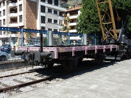 Vagón plataforma Q-784