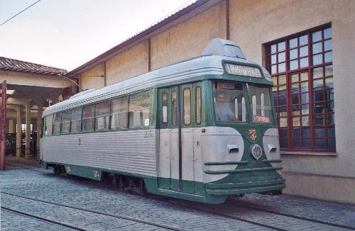 Tranvía eléctrico 218