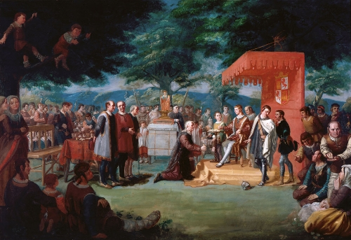 Voluntaria entrega de Álava a la Corona de Castilla