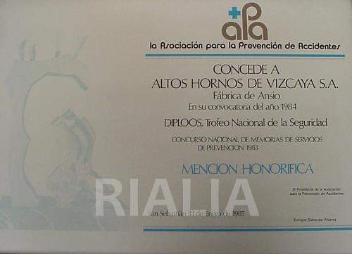 Diploma de calidad