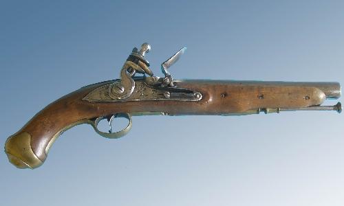 Pistola inglesa de reglamentario para la Caballería Ligera,md 1796
