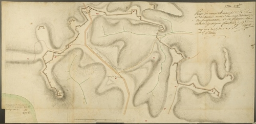 Plan du Camp Retranché de S. Sebastien