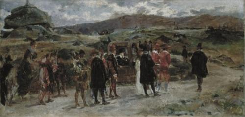 Boceto para La silla de Felipe II