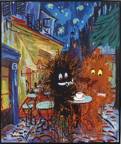 Van Gogh y su amigo