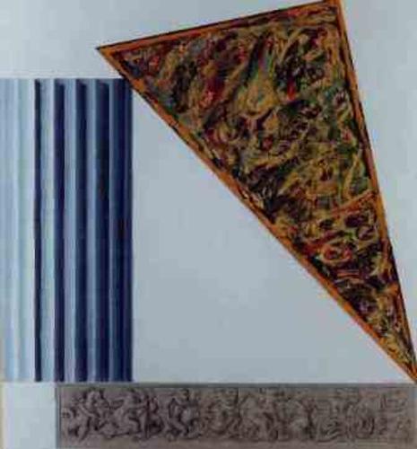 Triángulo y columna