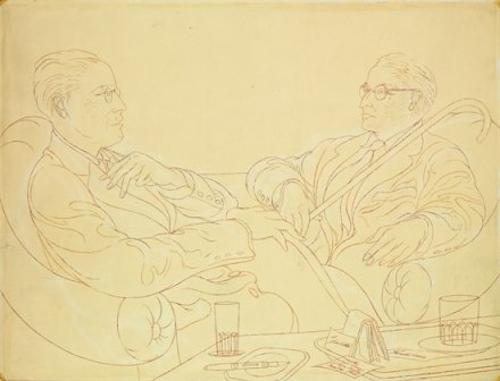 Juan Cristóbal y Pancho Cossío