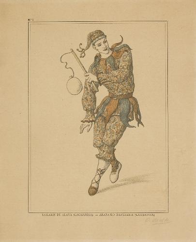 Bailarín de Álava (Laguardia) - Araba`ko dantzaria (Laguardia)