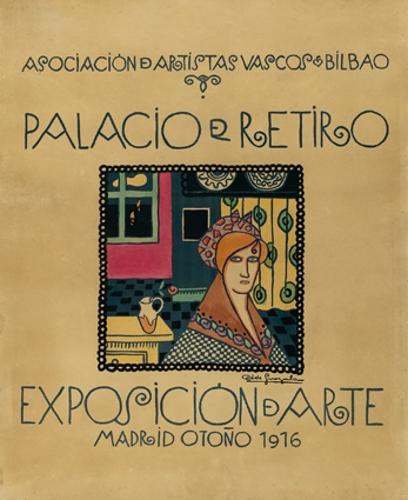 Asociación de Artistas Vascos Bilbao / Palacio del Retiro / Exposición de arte ...