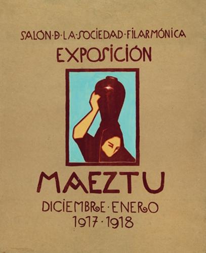 Salón de la Sociedad Filarmónica / Exposición / Maeztu / Diciembre-Enero / 1917-1918