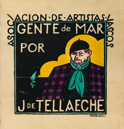Asociación de artistas vascos / Gente de Mar / por / J. de Tellaeche