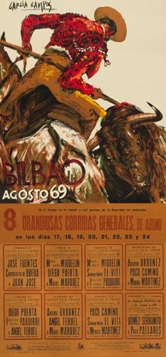 Bilbao / agosto 69 / si el tiempo no lo impide y con permiso de la autoridad ...