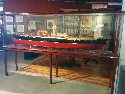 Maqueta buque 'Artagan Mendi'