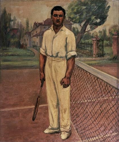 Retrato de Ramón González Gorbeña