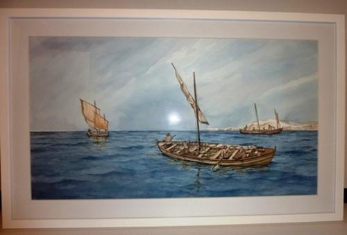 Pesca del bacalao. Pescadores vascos en Terranova (sigo XVI)