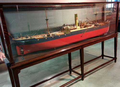 Maqueta buque 'Gorbea Mendi'