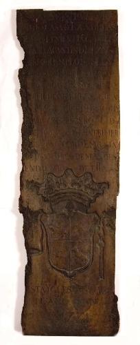 Lauda sepulcral de Blas de Lezo