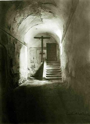 Interior abovedado de una iglesia o convento