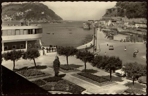 San Sebastián. Club Náutico y Monte Igueldo