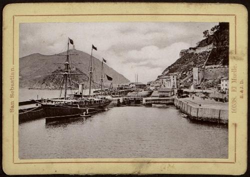San Sebastián. El muelle.