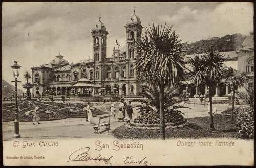 El Gran Casino. San Sebastián.