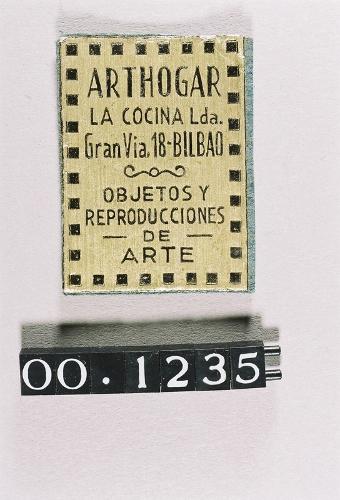 """Etiqueta del comercio """"Arthogar- La Cocina"""""""