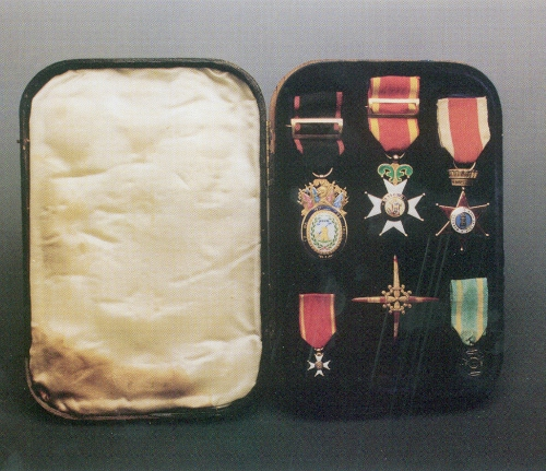 Medallas del capitán Alfred G. Harris