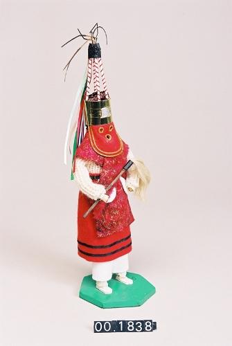Miniatura de dantzari Kottilun-gorri