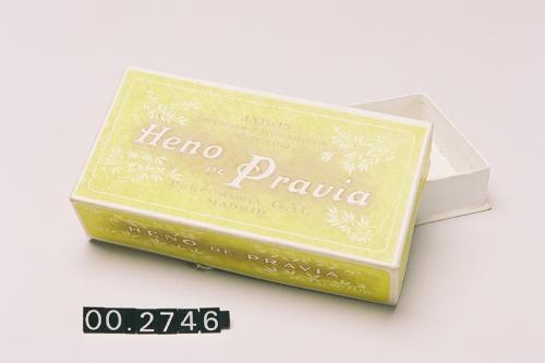 "Caja de jabón ""Heno de Pravia"""