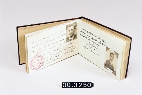 Álbum de autógrafos