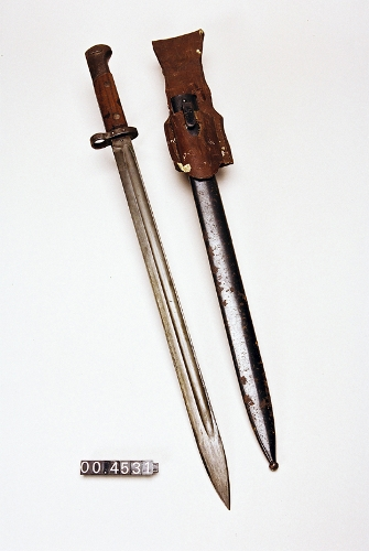 Bayoneta del fusil Mauser modelo VZ 24