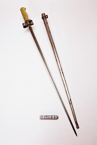 Bayoneta del fusil Lebel modelo 1886